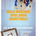 Mädchenbasketball